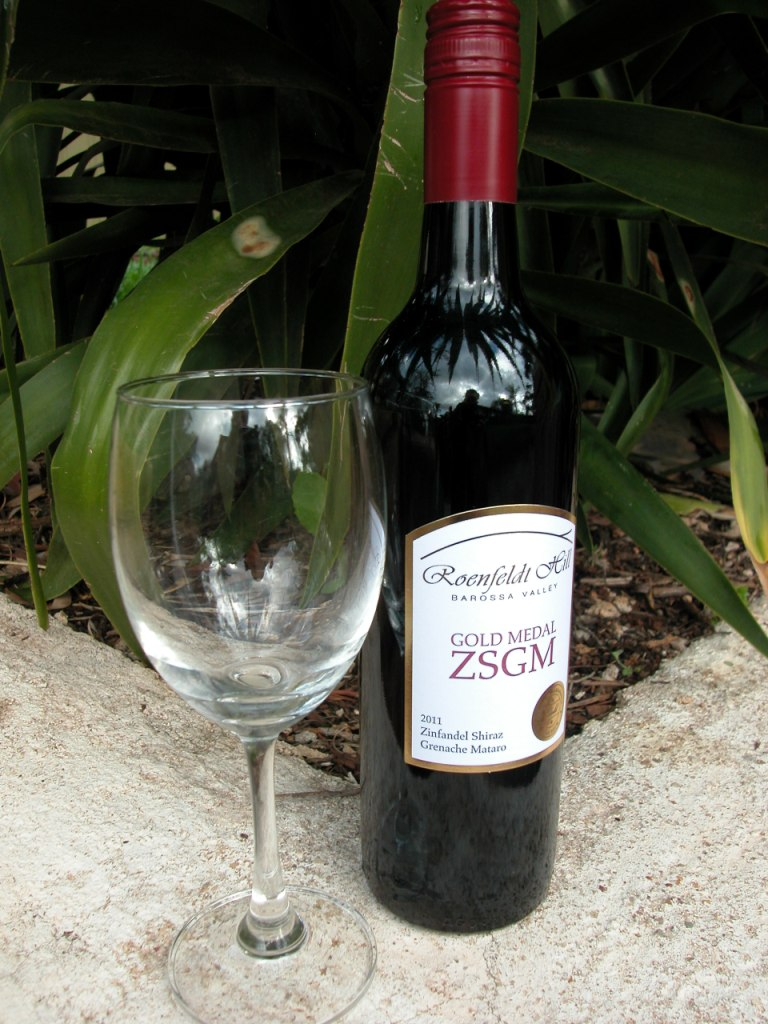 Tasting notes for 2011 Gold Medal ZSGM